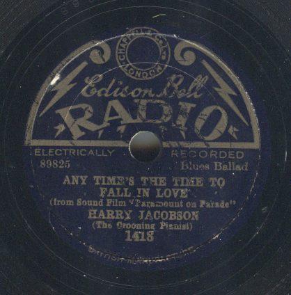 Edison Bell Radio 1418