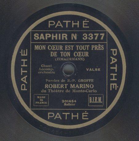 Pathe Saphir N 3377