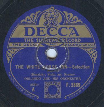 Decca F 2869