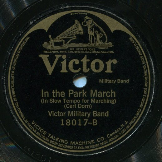 Victor Military Band - Half And Half - Love's Melody