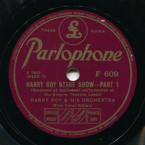 ParlophoneF609