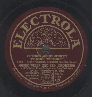 Electrola EH 312 - 1928