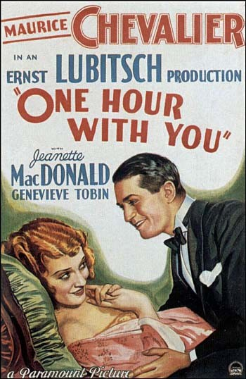 One Hour With You Film Poster
