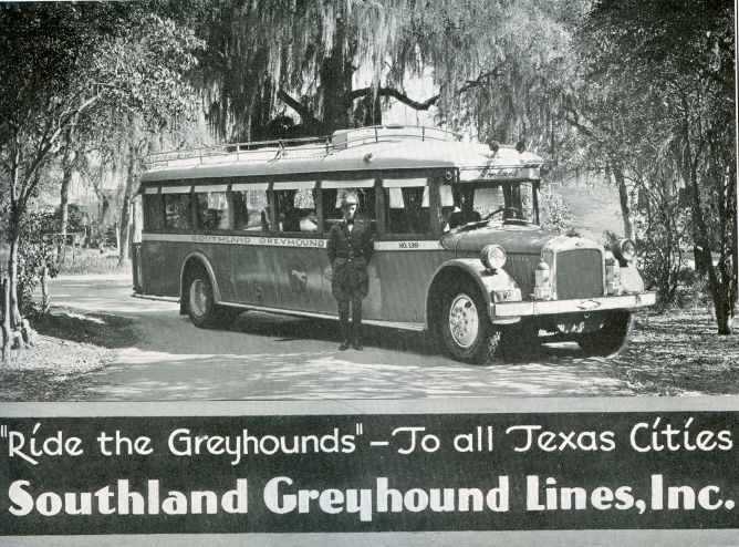 1931 Greyhound Bus Lines Ad