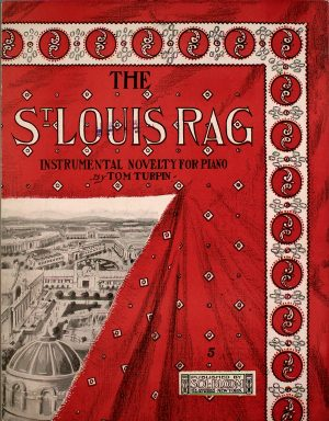St Louis Rag - Vintage sheet music cover