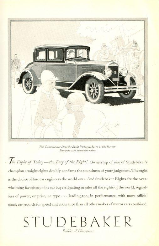 1929 Studebaker ad