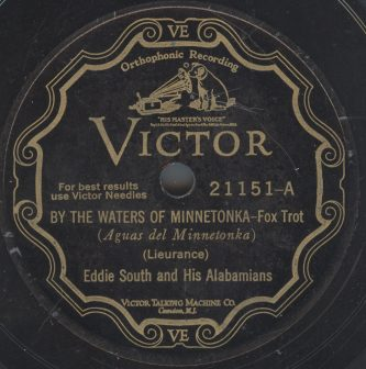 Victor 21151  Eddie South And His Orchestra 1927