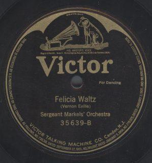 Victor 35639 B label
